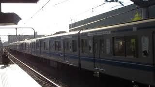 西武6050系6158F中村橋駅高速通過