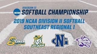 NCAA Softball Southeast 1 Regional   No. 4 Coker vs. No. 8 Lees-McRae   May 10