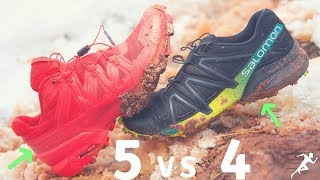 Salomon Speedcross 5 vs Speedcross 4 | Three Important Updates