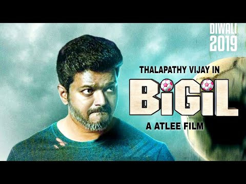 BIGIL - Thalapathy 63 Title | Vijay Character Revealed | Thalapathy