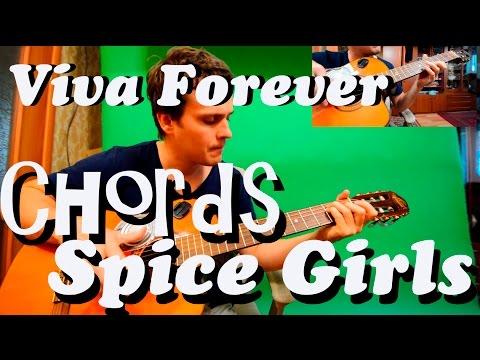 Guitar chords: Spice Girls - Viva Forever