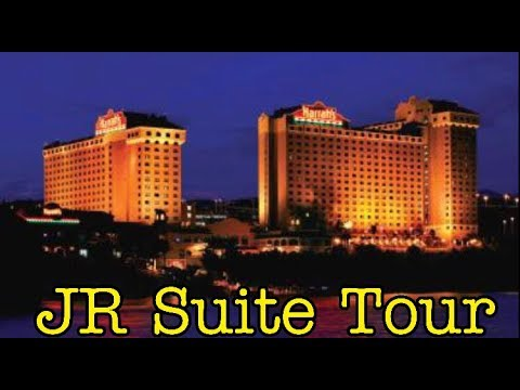 FREE UPGRADE! JUNIOR SUITE TOUR - Harrah's Laughlin Hotel & Casino