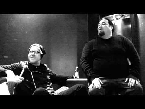 Fear Factory Interview Burton C. Bell and Dino Cazares @ Circus, Helsinki, Finland 7.11.2015