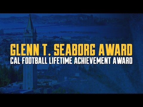 Cal Football: Glenn T. Seaborg Award