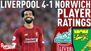 FIRMINO WAS A MONSTER! | Liverpool 4-1 Norwich | Player Ratings!