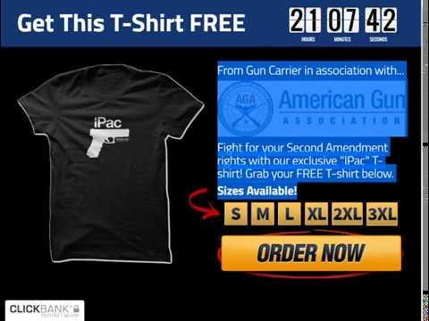 Free Ipac T Shirt From The American Gun Association