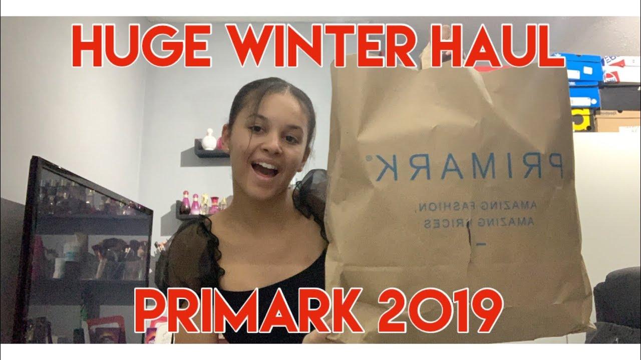 [VIDEO] - HUGE WINTER PRIMARK HAUL 2019 ! 1