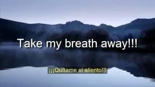 Take my breath away - Karaoke/ Instrumental/ Traducción - Berlin