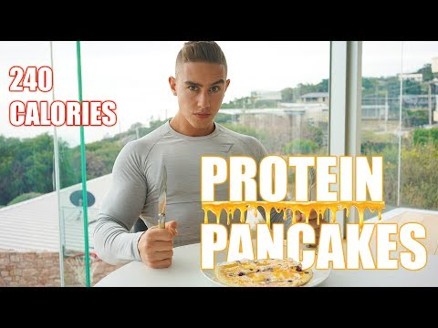 The Best Protein Pancake Recipe | LOWEST CALORIES| Zac Perna