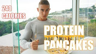 The Best Protein Pancake Recipe   LOWEST CALORIES  Zac Perna
