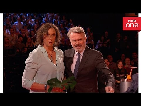 Sam Neill and Miranda Hart re-enact Jurassic Park: The Graham Norton Show 2016 - BBC One