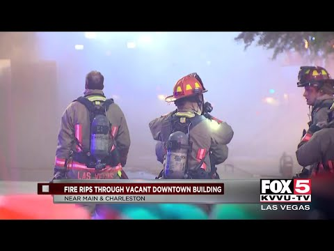 Two Fires At Vacant Buildings Overnight In Las Vegas