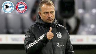 🎙️ Wer kehrt in den Kader zurück? Pressetalk mit Hansi Flick | Arminia Bielefeld - FC Bayern