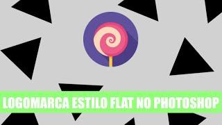 Como criar uma logomarca no Photoshop (estilo flat) - Para iniciantes