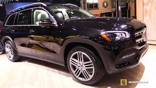 2020 Mercedes GLS 450 - Exterior and Interior Walkaround - 2019 NY Auto Show