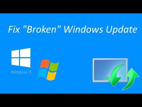 "How to fix ""broken"" Windows Update on Windows 7 and Windows 8.1"