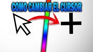 TUTORIAL : COMO CAMBIAR EL CURSOR DEL MOUSE 2018