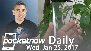 Samsung Galaxy S8 Infinity Display, New BlackBerry date & more   Pocketnow Daily