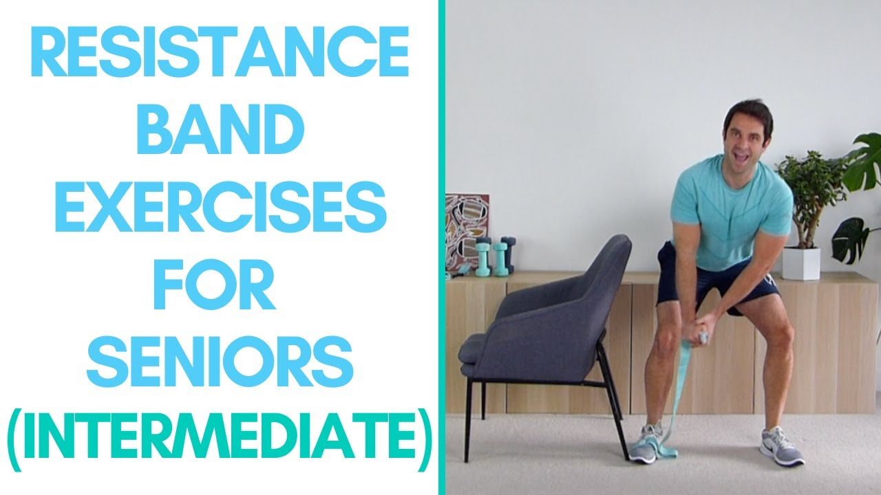 Resistance Band, Strength Workout For Seniors (13-Minutes - Advanced)