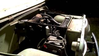 1965 Jeep CJ5 Warm Idle
