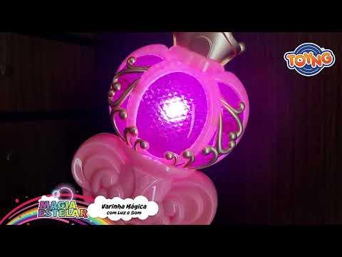 Varinha mágica com Luz e Som - 42613