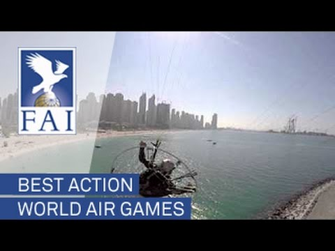 Best action of the FAI World Air Games Dubai 2015 !