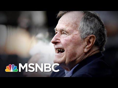 George H. W. Bush Hospitalized george hw bush