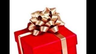 Как Сделать Пышный Подарочный Бант Атласная Лента для Подарка Красиво Завязать Бантик своими руками!