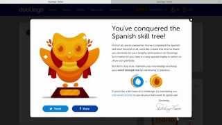Completing my Duolingo Tree (Spanish)