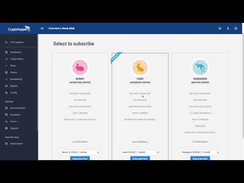 Coinbase, Binance, and CryptoHopper