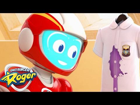 Space Ranger Roger | Roger's Bubble Trouble | HD Full Episodes 7 | Cartoons For Children