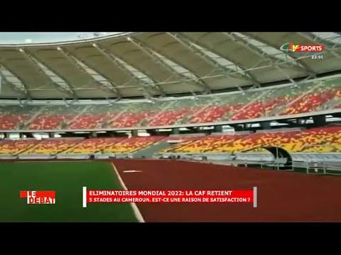 CRTV - SPORTS CLUB - (CAN 2021 et ÉLIMINATOIRES QATAR 2022 : Les STADES du CAMEROUN) - 05 Mai 2021