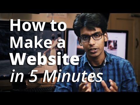 How to Create A Website - in 5 Mins - with Wordpress