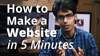 Video How to Create A Website - in 5 Mins - with Wordpress download MP3, 3GP, MP4, WEBM, AVI, FLV Juni 2018