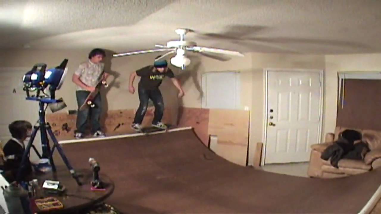 Living room mini ramp sesh 2 skateboarding edit jb oneill for Living room jb