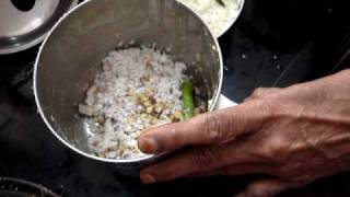 Srirangam Radhu Moar Kuzumbu Preparation 1