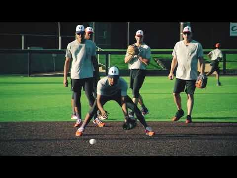 Double play drills with Bill Ripken