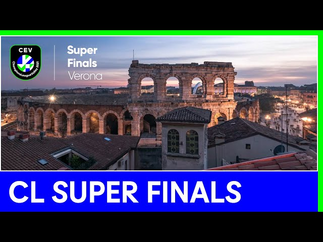The CEV Champions League SuperFinals are heading for Verona!