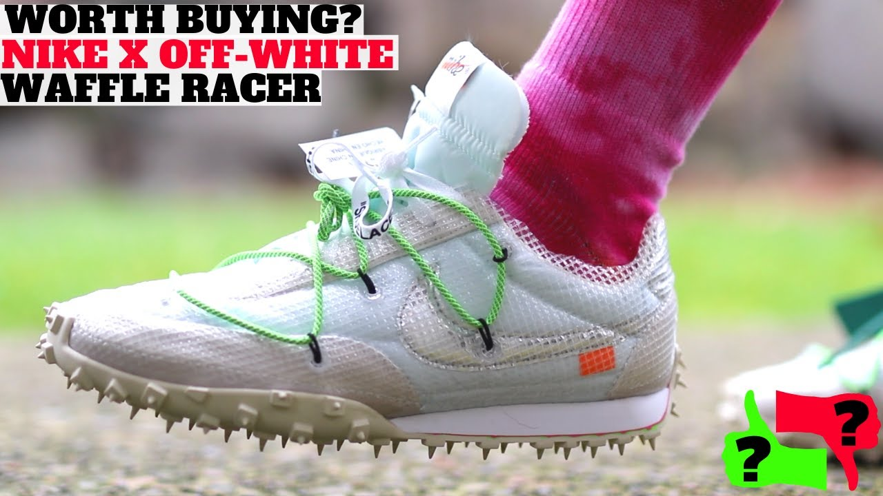 Worth Buying? Nike Off,White Waffle Racer Review! (Comparison to Vapor  Street \u0026 Terra Kiger)