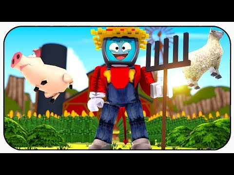 Becoming A Farmer With A Flying Pig And Sheep - Roblox Farming Simulator