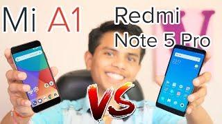 Xiaomi Mi A1 V/S Redmi Note 5 Pro | Full Comparison | Mr.V