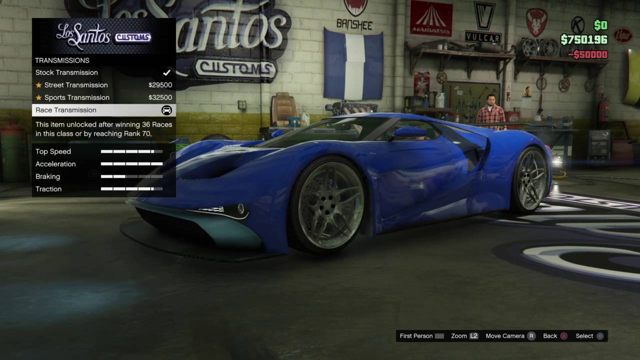 Gta  Costumizing Vapid Fmj  Ford Gt Finance And Felony