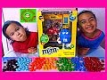 Learn Colors! M & M's Bank Alarm Clock I'm A Coin Bank Too!!! Kids Balloons and Toys