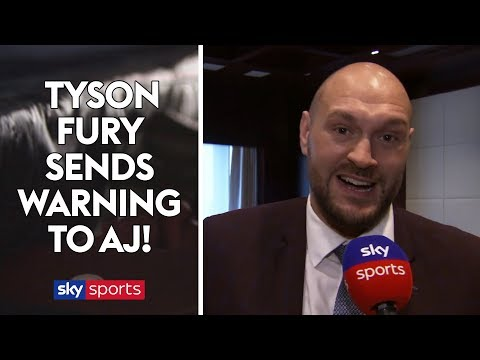 EXCLUSIVE: Tyson Fury sends warning to Anthony Joshua 👀