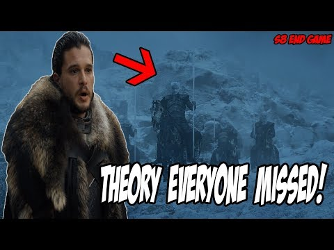 End Game Theory EVERYONE Missed! Game Of Thrones Season 8