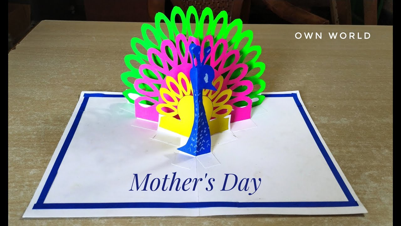 Beautiful mother\u2019s day card! Idea