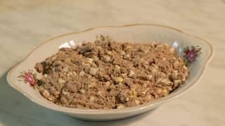 Печень трески рецепт салата с яйцом для тарталеток