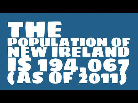 What is the population of New Ireland?