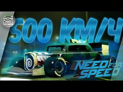 Need For Speed (NFS 2015/2016) - КАК РАЗВИТЬ 500КМ/Ч!? (Новый мировой рекорд?)