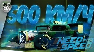 Need For Speed NFS 2015 2016 - КАК РАЗВИТЬ 500КМ Ч Новый мировой рекорд